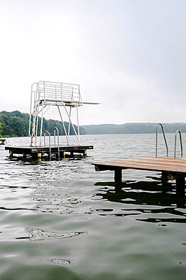 Diving board - p1190m2039257 by Sarah Eick