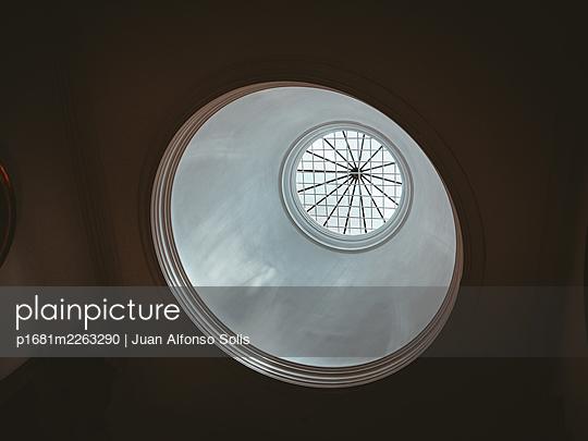 Portugal, Porto, Rotunda in a church - p1681m2263290 by Juan Alfonso Solis
