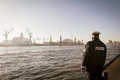 Polizei Hamburg - p1222m1223148 von Jérome Gerull