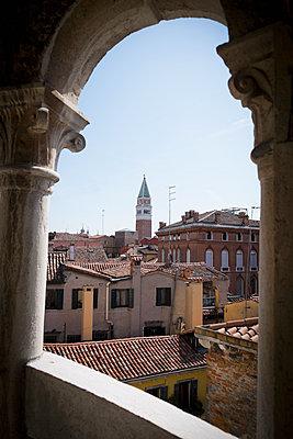 Markusturm in Venedig - p1149m1332989 von Yvonne Röder