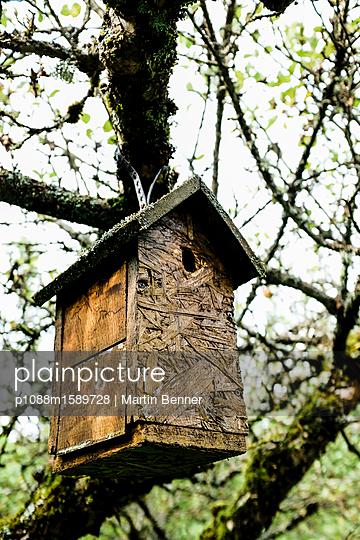 Vogelhaus - p1088m1589728 von Martin Benner