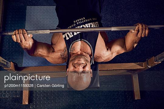 Bodybuilding - p1200m1159328 von Carsten Görling