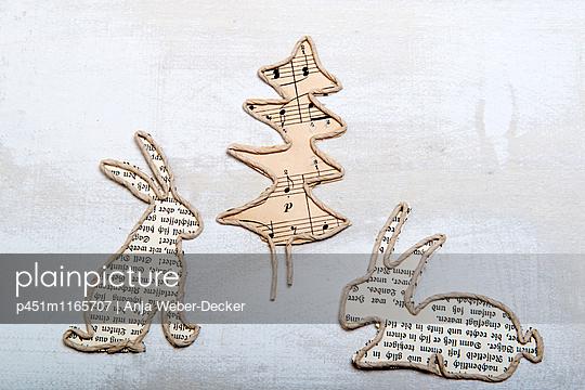Papierbasteln - p451m1165707 von Anja Weber-Decker