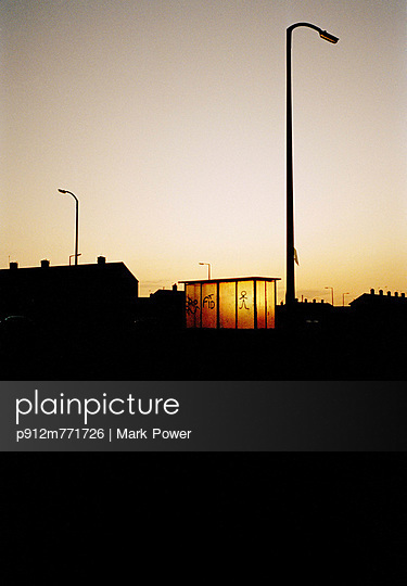 Bus shelter - p912m771726 by Mark Power