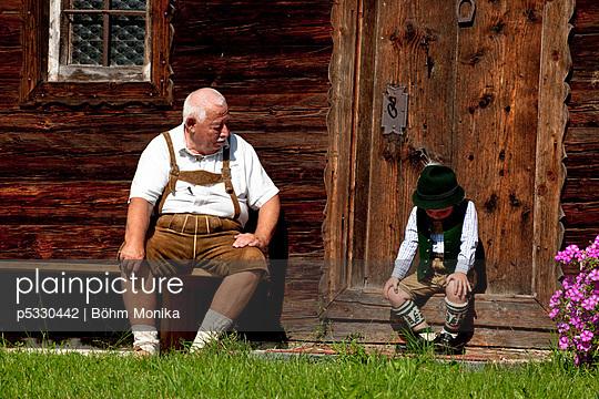 Kindheit auf dem Land - p5330442 von Böhm Monika