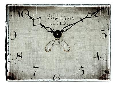 Clock face - p4510691 by Anja Weber-Decker