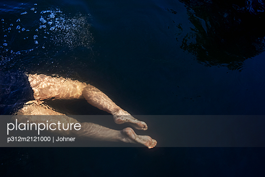 Swimming in water - p312m2121000 by Johner