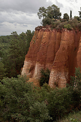 Red rock at Roussillon - p212m901157 by Edith M. Balk