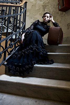 19. Jahrhundert Lady - p6190054 von Samira Schulz