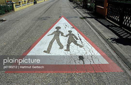 Kinder auf der Straße - p0190212 von Hartmut Gerbsch
