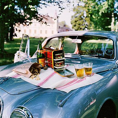 A picnic on a Jaguar Sweden. - p31219266 by Mikael Dubois