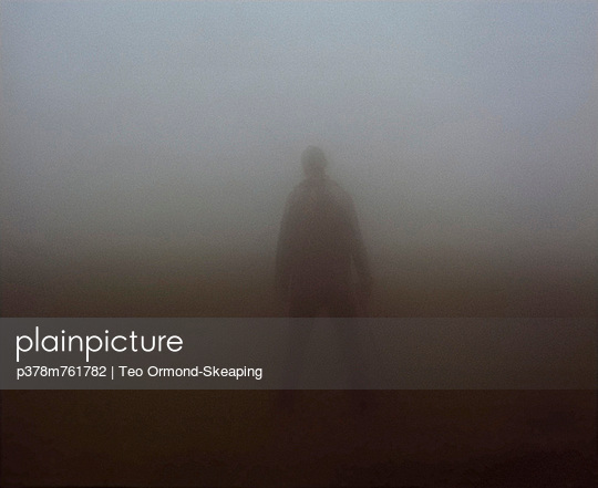 Figure obscured by fog - p378m761782 by Teo Ormond-Skeaping