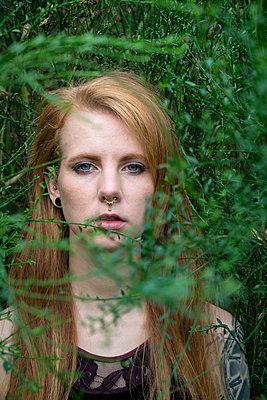 Portrait - p427m1538095 von R. Mohr