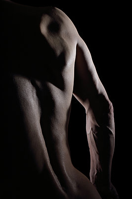 Male nude - p1540m2122834 by Marie Tercafs