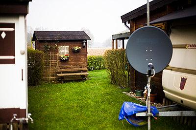 Camping im Kleingarten - p9020066 von Mölleken