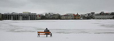 Urban Scenes, Reykjavik, Iceland - p1028m767040 von Jean Marmeisse