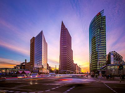 Potsdamer Platz, Berlin, Germany - p1062m1172167 by Viviana Falcomer