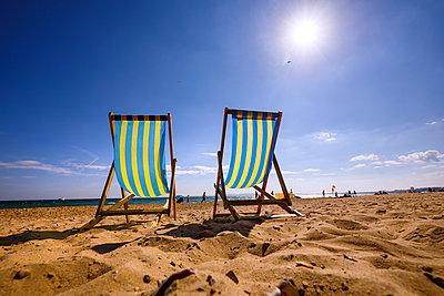 Liegestühle am Strand - p228m2064475 von photocake.de