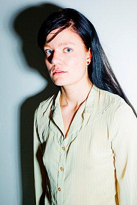 Woman in studio - p4130758 by Tuomas Marttila