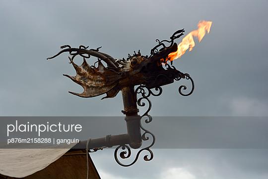 dragon's head metal - p876m2158288 by ganguin