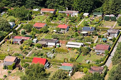 Kleingartenanlage - p1079m995521 von Ulrich Mertens
