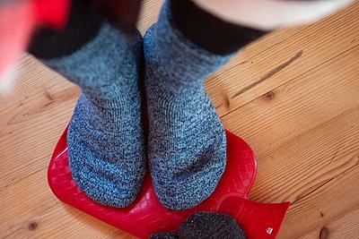 Warm feet - p454m2124962 by Lubitz + Dorner