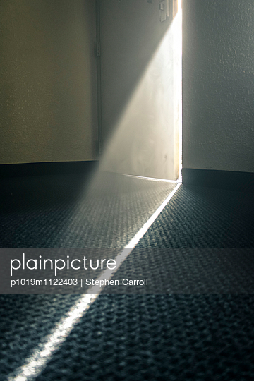 Light Enters by Cracked Door  - p1019m1122403 by Stephen Carroll