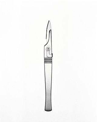 Skalpell - p1092m900008 von Rolf Driesen
