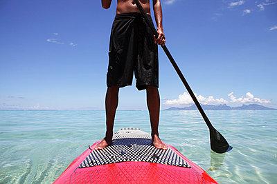 Stand Up Paddle - p0453097 von Jasmin Sander