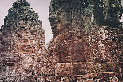 Ancient Angkor temple - p1445m1586295 by Eugenia Kyriakopoulou