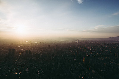 View from Taipei 101 tower - p795m2044800 by Janklein