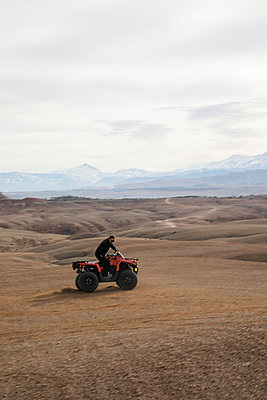 Marrakesh, Desert Quad-biking - p1253m2152625 by Joseph Fox