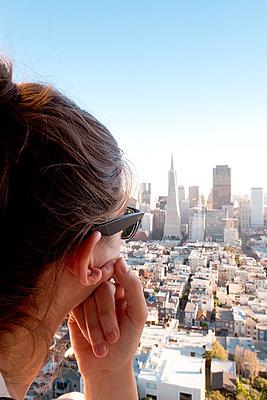 Ausblick auf San Francisco - p795m1159955 von JanJasperKlein