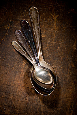 Old spoons - p451m793952 by Anja Weber-Decker