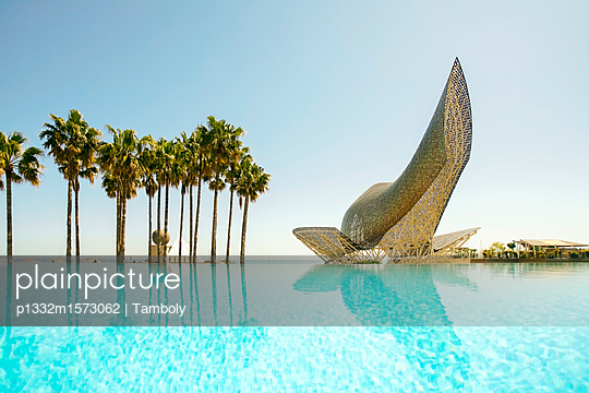 Goldfisch Skulptur - p1332m1573062 von Tamboly