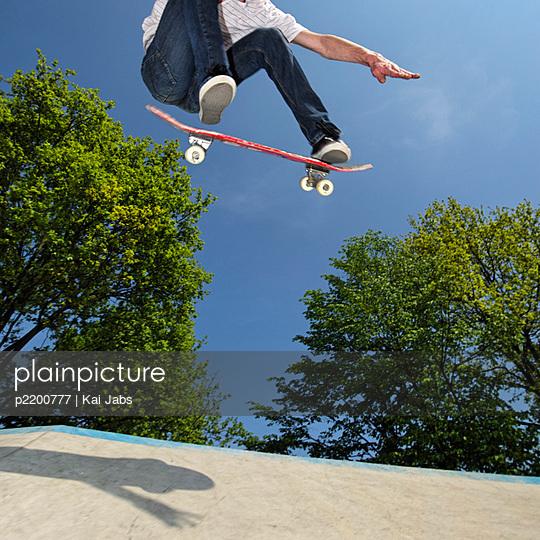 Skateboard fahren - p2200777 von Kai Jabs