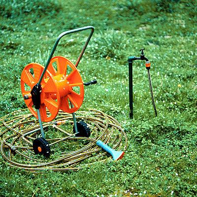Garden hose - p5450043 by Ulf Philipowski