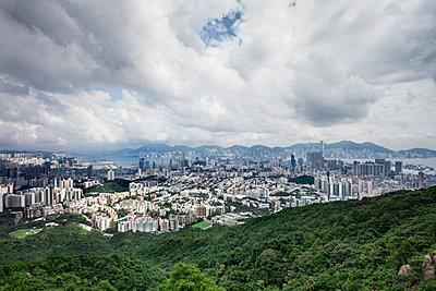 Hong Kong from Lion Rock  - p1558m2132811 by Luca Casonato