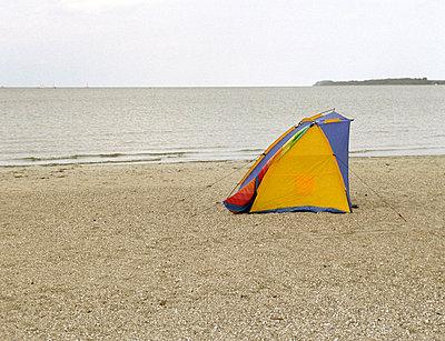 Windschutz an der Ostsee - p0030453 von Carolin