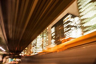 night drive in Tokyo - p1093m918000 by Sven Hagolani