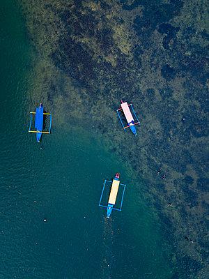 Indonesien, Bali, Auslegerboote - p1108m2181715 von trubavin