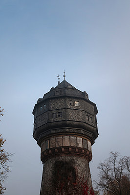 Historic water tower - p470m2082309 by Ingrid Michel