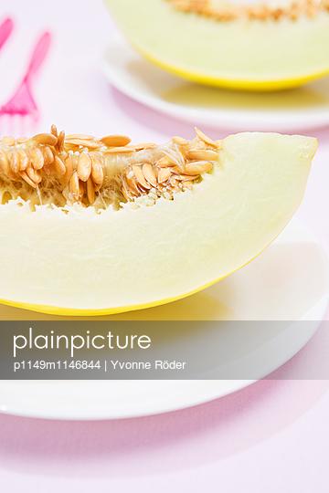 Honigmelone - p1149m1146844 von Yvonne Röder