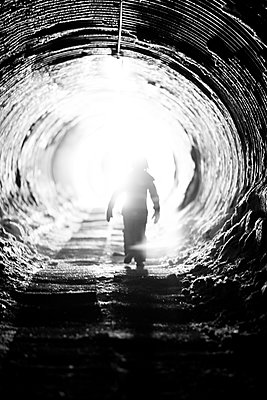 The light at the end of the tunnel - p1635m2237756 by Amanda Witt