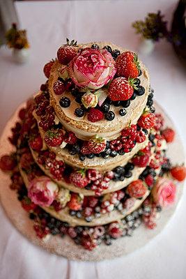 Hochzeitstorte - p772m1042871 von bellabellinsky