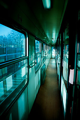 Train corridor empty - p965m1541316 by VCreative