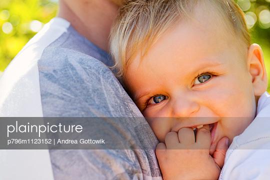 Papa und ich  - p796m1123152 von Andrea Gottowik
