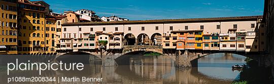 Panorama Ponte Vecchio - p1088m2008344 von Martin Benner