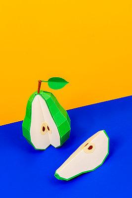 Paper pear - p451m2263525 by Anja Weber-Decker