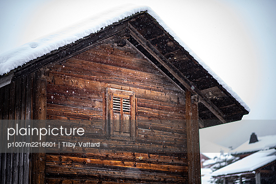 France, Le Grand Bornand in winter - p1007m2216601 by Tilby Vattard